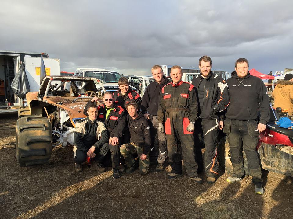 Snorri with team